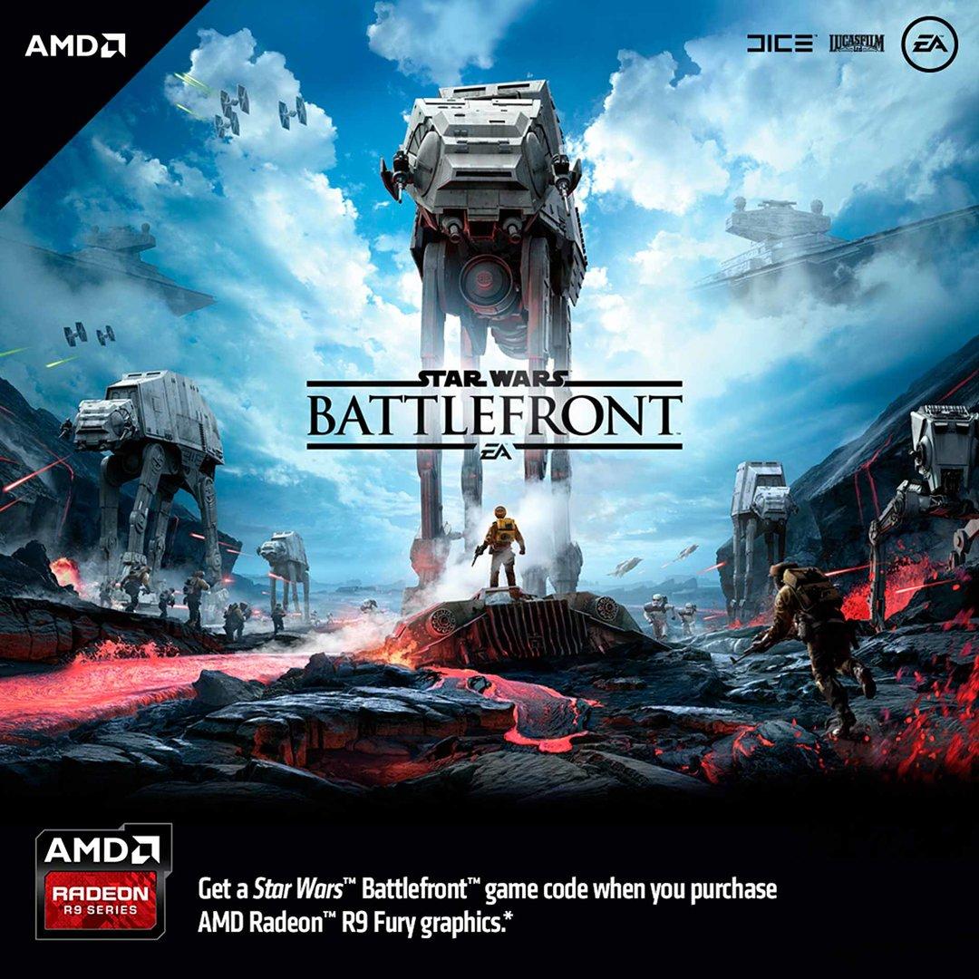 AMD-Bundle mit Star Wars: Battlefront
