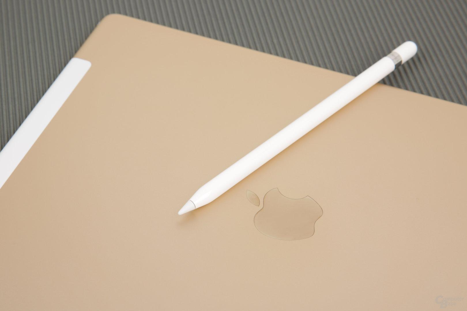 Apple Pencil auf iPad Pro