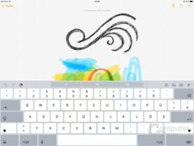 Neue Software-Tastatur auf dem iPad Pro