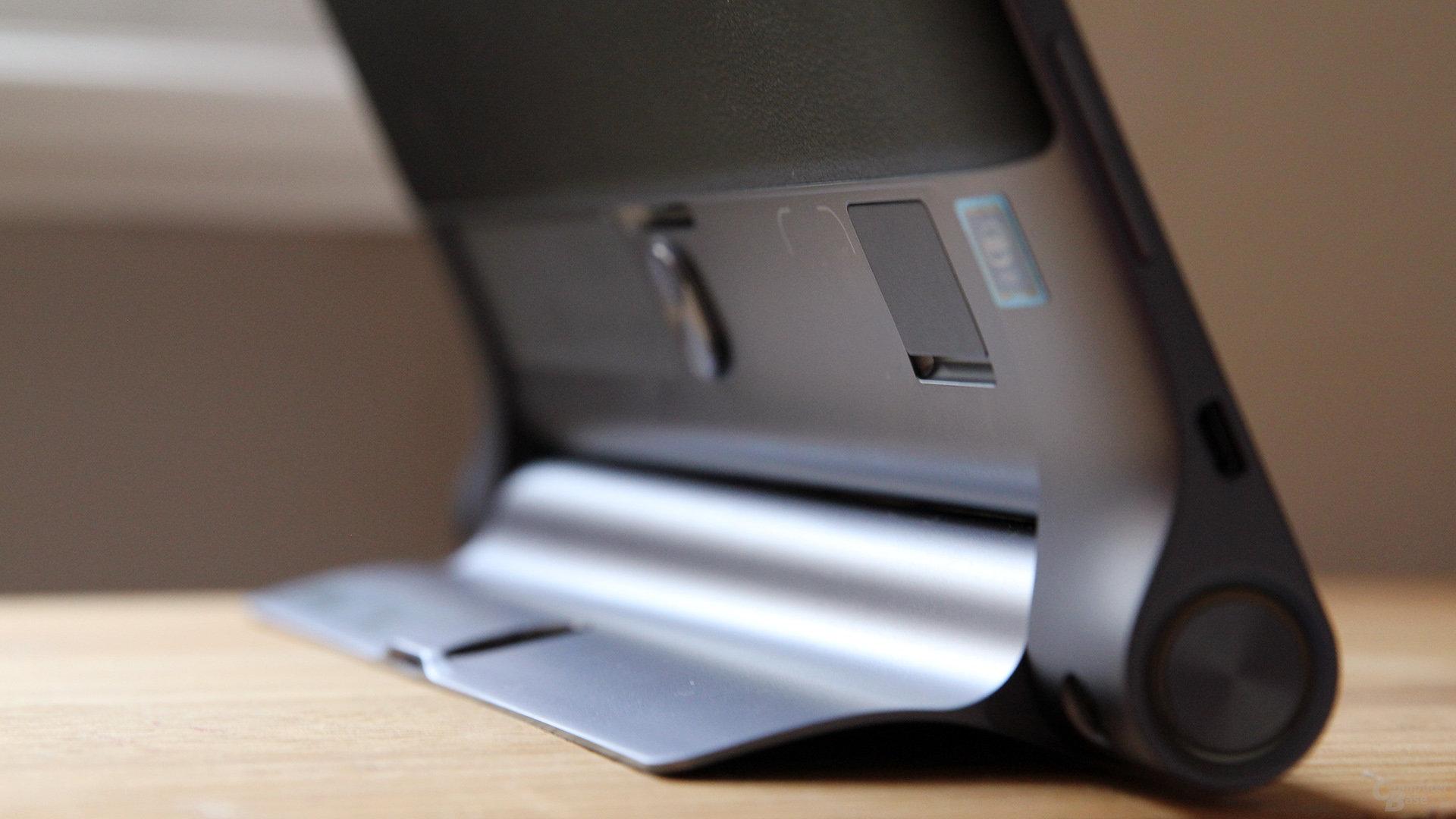 Ein klappriger microSD Verschluss