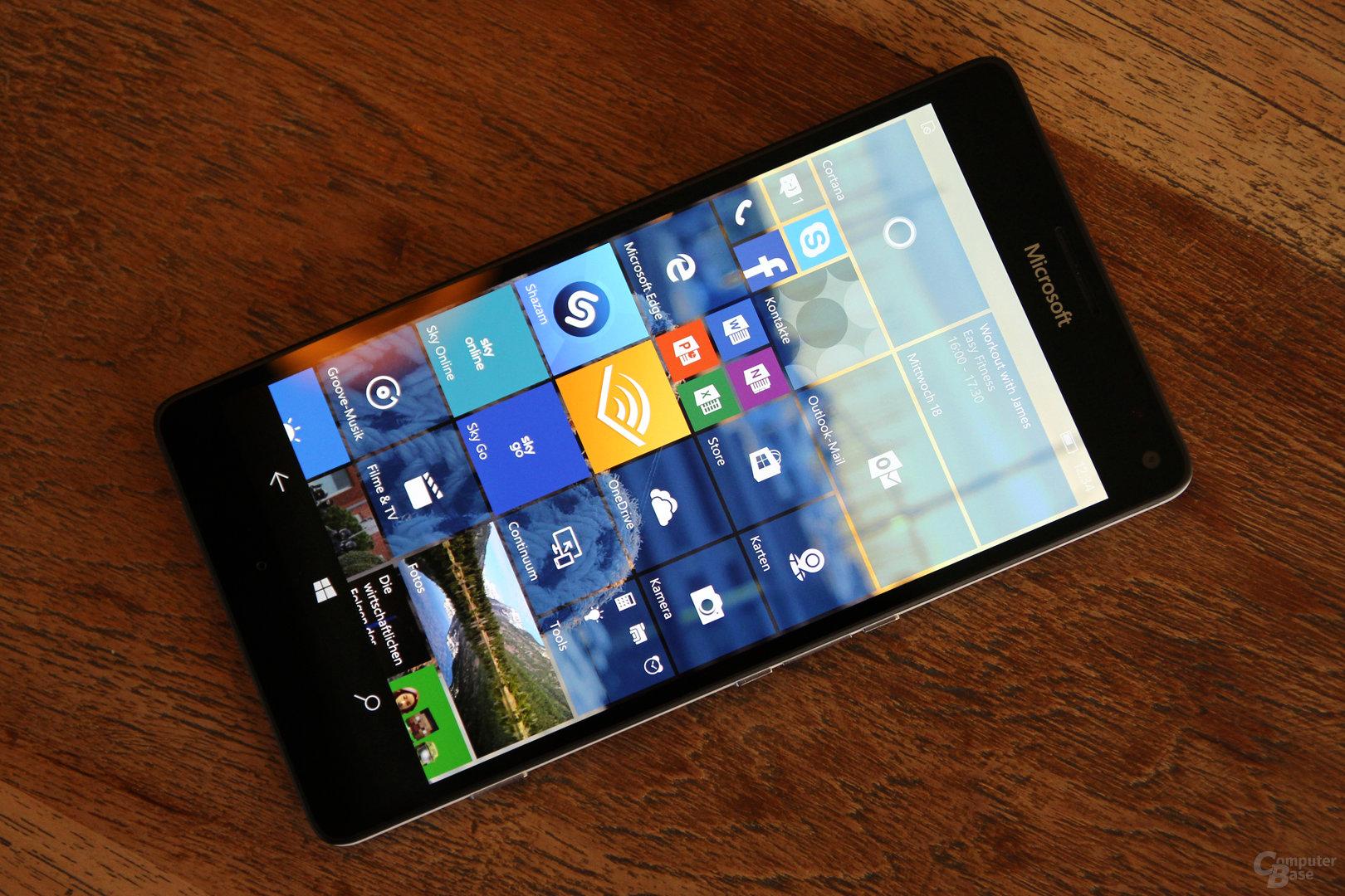518 ppi beim Lumia 950 XL