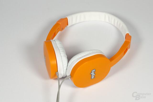 Der Tiptoi-Kopfhörer mit begrenzter Lautstärke