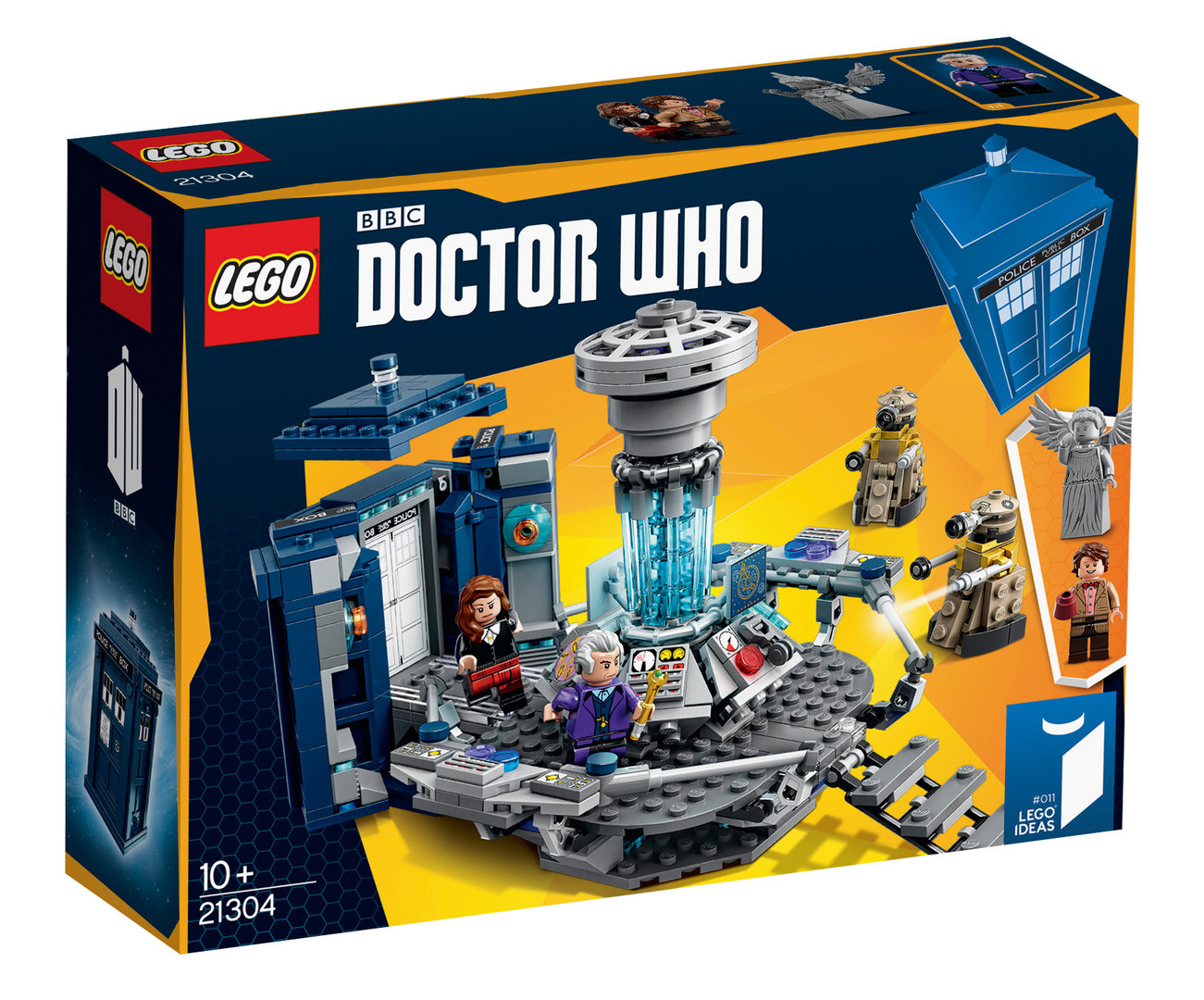 Doctor Who als Lego-Modell