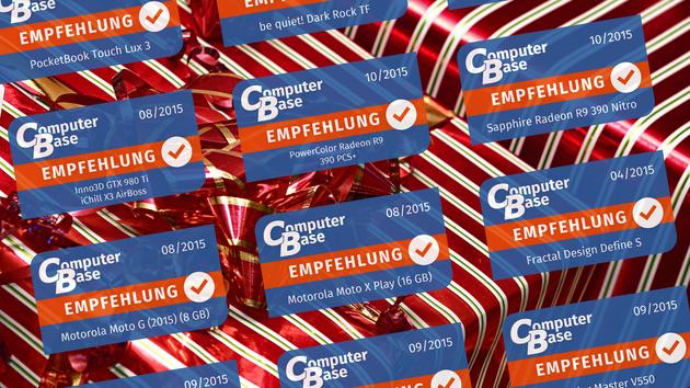 Nikolaus-Gewinnspiel: Empfehlungen des Jahres 2015 zu gewinnen