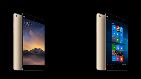 Xiaomi Mi Pad 2: Intel Atom und Windows 10 in Alu hinter 7,9 Zoll