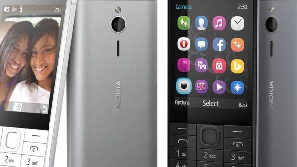 Nokia 230: Feature Phone mit Selfie-Kamera und Dual-SIM für 69 Euro