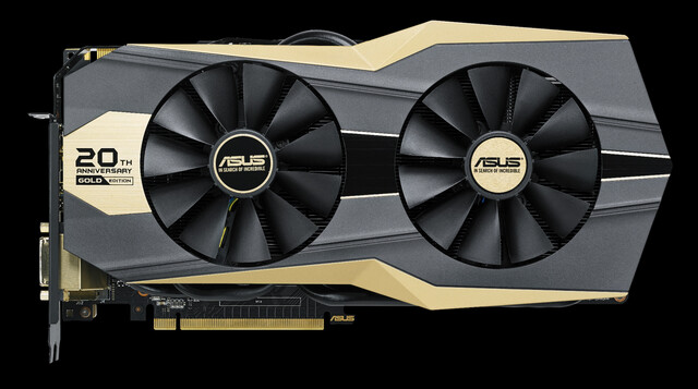 Asus 20th Anniversary Gold Edition GTX 980 Ti