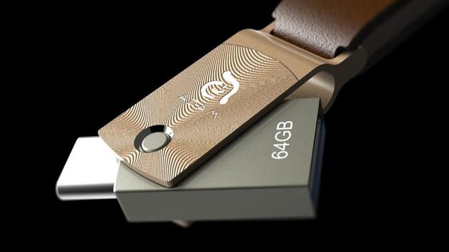 Adam Elements Roma: USB-3.1-Stick mit Typ-A- und Typ-C-Stecker