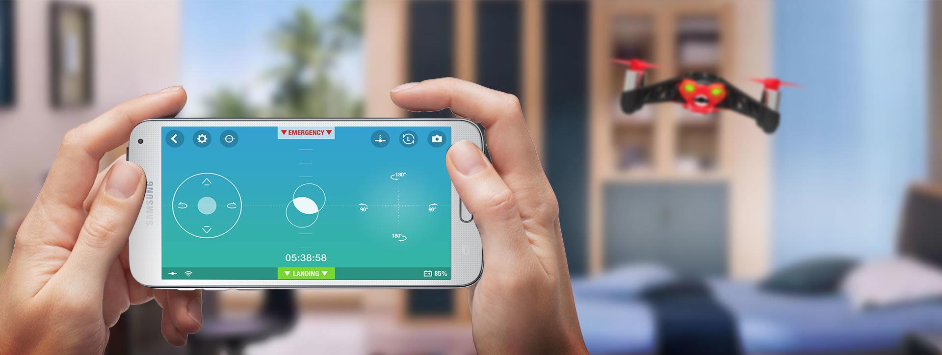 Freeflight App für iOS, Android und Windows