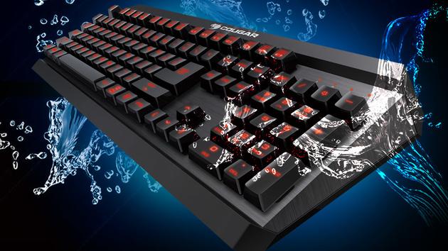 Cougar 450K & 450M: Tastatur mit Hybrid-Tastern und Maus für Spieler
