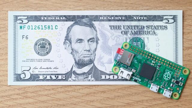 Der neue Raspberry Pi Zero kostet nur 5 US-Dollar