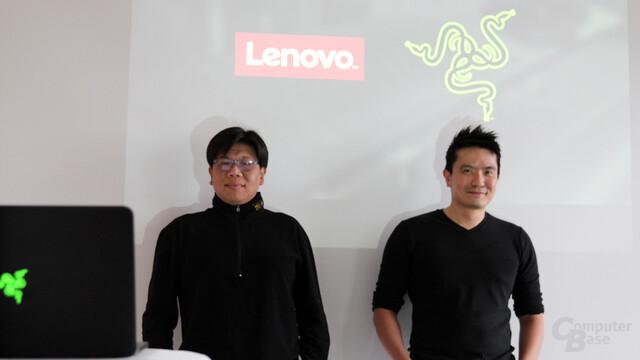 Lenovos Melvin Teo, Razer CEO Min-Liang Tan