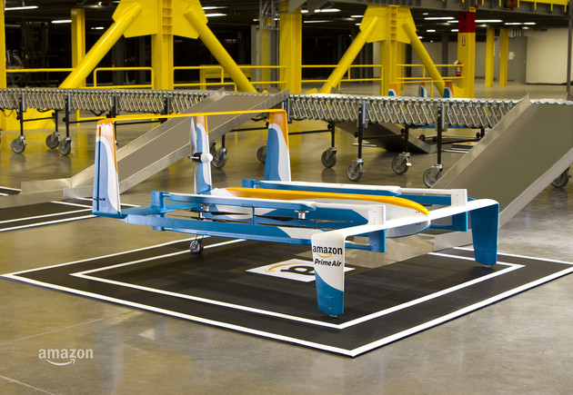 Lieferdrohne für Amazon Prime Air