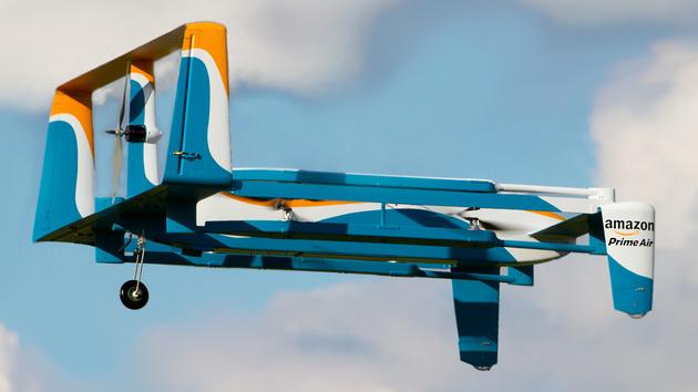 Prime Air: Amazon zeigt zweite Version seiner schnellen Lieferdrohne