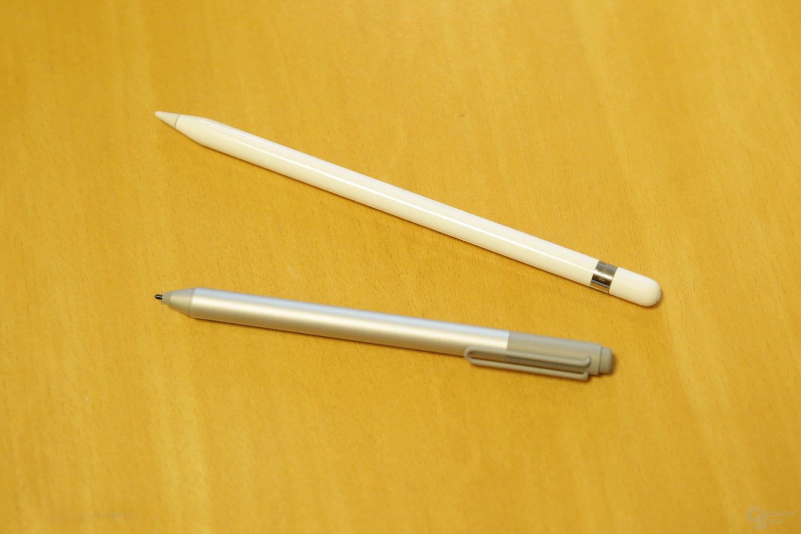 Stuttmann favorisiert den Stift von Apple