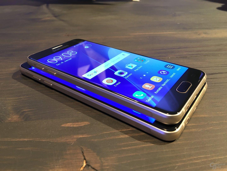 Samsung Galaxy A3 und Galaxy A5 2016 Edition