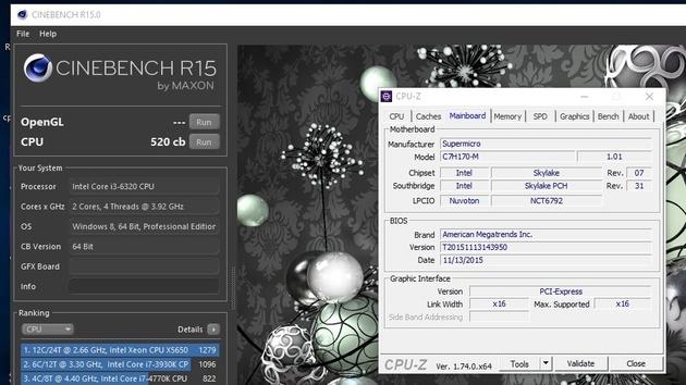 Overclocking trotz Sperre: Intel Core i3-6320 mit BCLK auf 4,68 GHz übertaktet