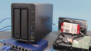 Synology DS716+ im Test: Mit Prüfsummen und Snapshots gegen Datenverlust