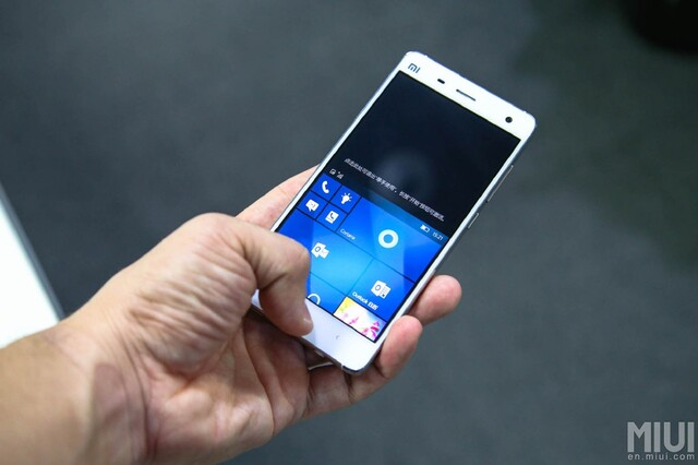 Windows 10 Mobile auf dem Xiaomi Mi 4