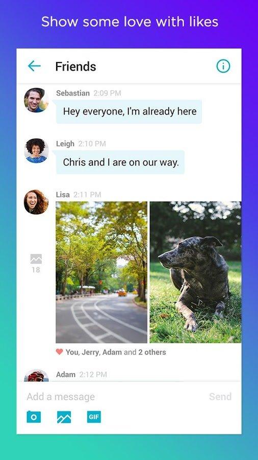 Yahoo Messenger für Android