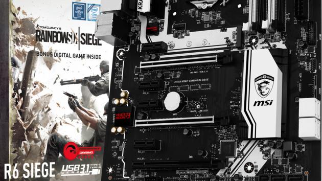 MSI Mainboard-Aktion: Rainbow Six Siege kostenlos für zwei Z170-Platinen