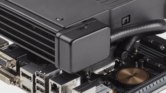 Corsair Hydro Series H5 SF: Wasserkühler thront über Mini-ITX-Mainboards