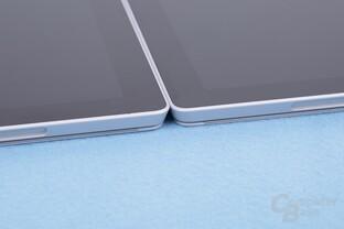 Alle Surface Pro 4 verfügen über das gleiche Gehäuse