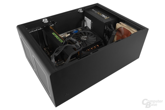 Streacom F12C – Testsystem