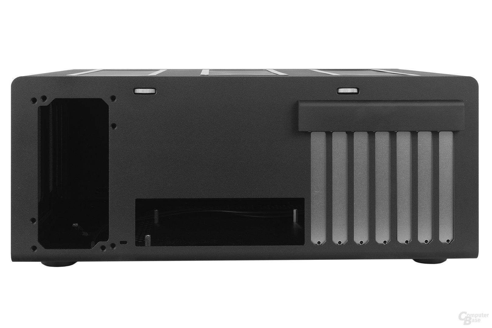Streacom F12C – Heckansicht
