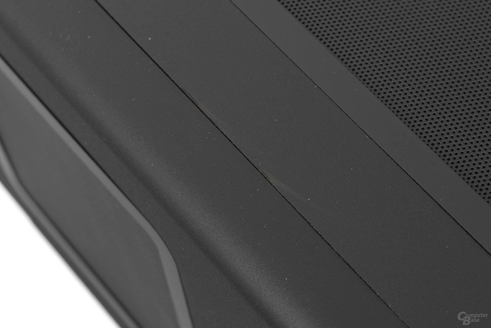 Streacom F12C – Nachgebesserter Materialfehler