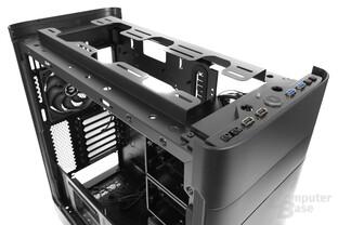 BitFenix Shogun – Montagemöglichkeiten im Deckel