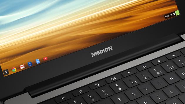 Medion Akoya S2013: Chromebook mit ARM-SoC für 199 Euro