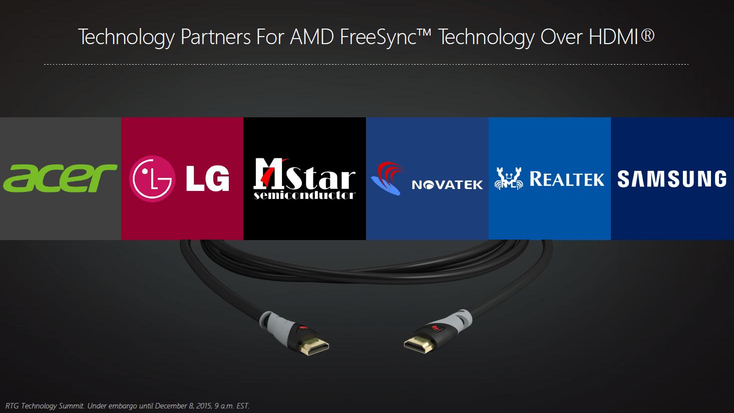 FreeSync über HDMI für Radeon in 2016