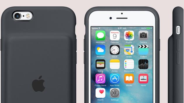 Smart Battery Case: Offizielle Schutzhülle mit Zusatzakku für das iPhone 6(s)