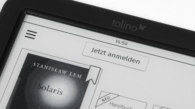 Tolino Shine 2 HD: Noch bis Donnerstag mit zwei E-Books für 105 Euro