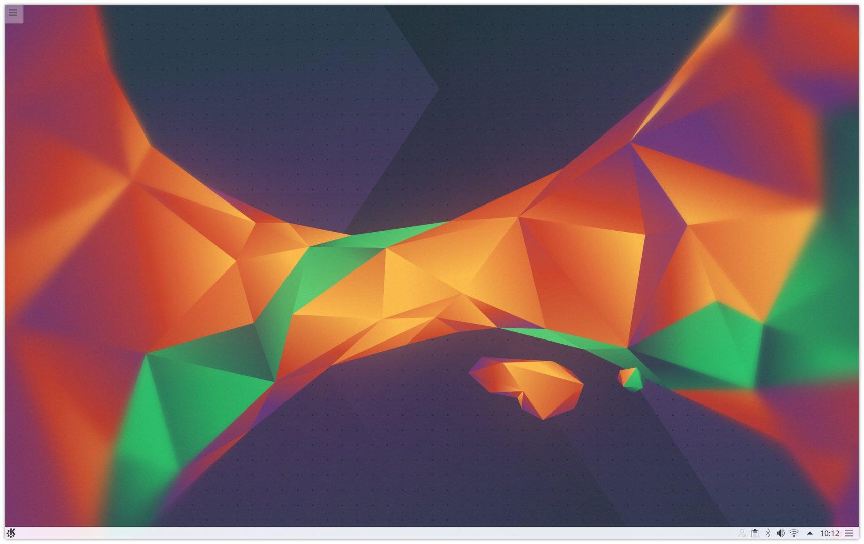 Plasma 5.5 Desktophintergrund