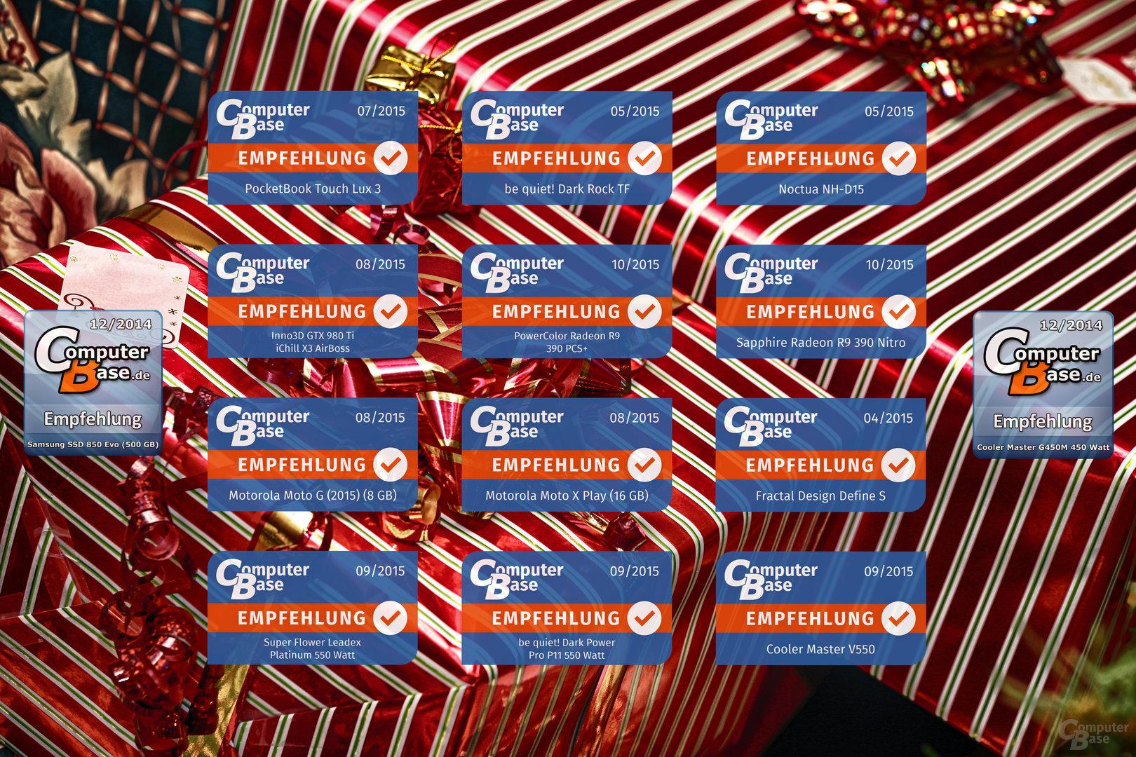 Die Gewinne des Nikolaus-Gewinnspiels 2015