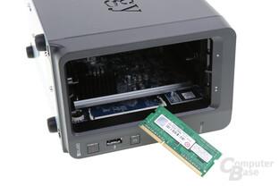 Synology DS716+ – Der RAM lässt sich austauschen