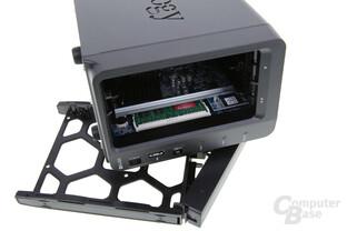 Synology DS716+ – Das RAM-Modul ist jedoch schwer zugänglich