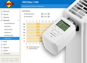 AVM Fritz!OS 6.50 – Fritz!Box regelt die Temperatur