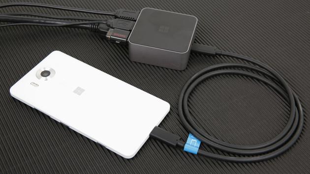 Lumia 950 mit Continuum im Test: Dieser Hosentaschen-PC braucht mehr Universal Apps