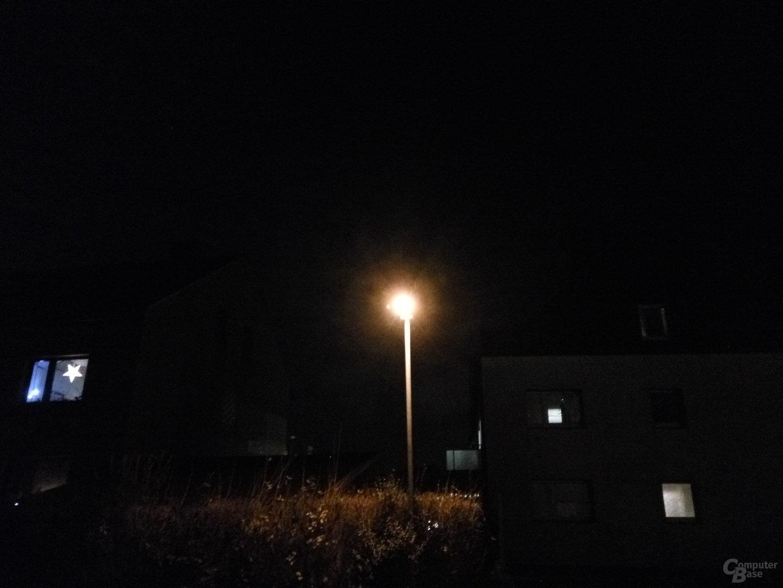Xiaomi Redmi Note 3 im Test – Nacht mit Blitz