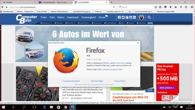 Firefox 43