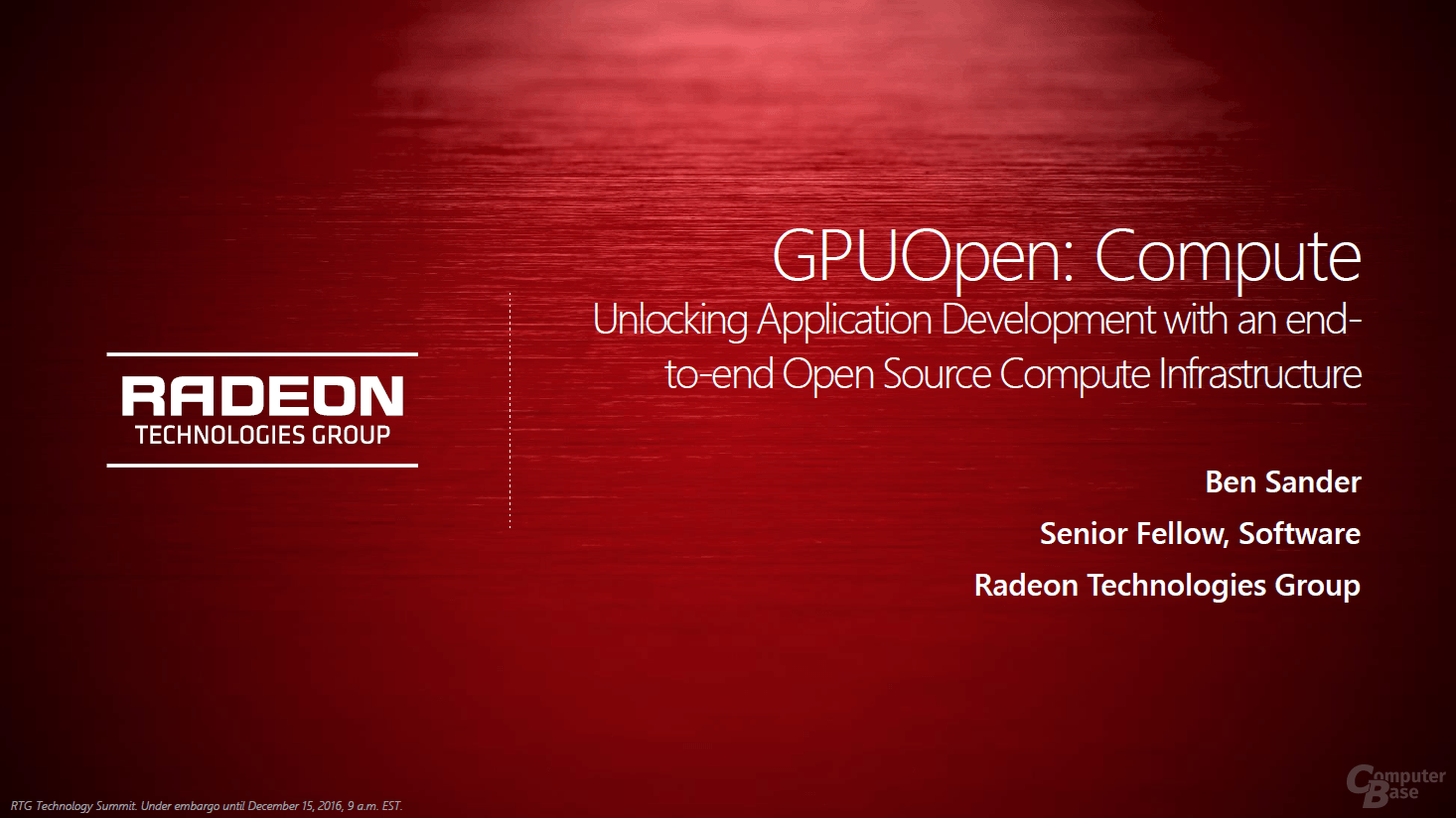 AMD GPUOpen – Compute