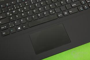 Die Tastatur klappert, das Trackpad nicht