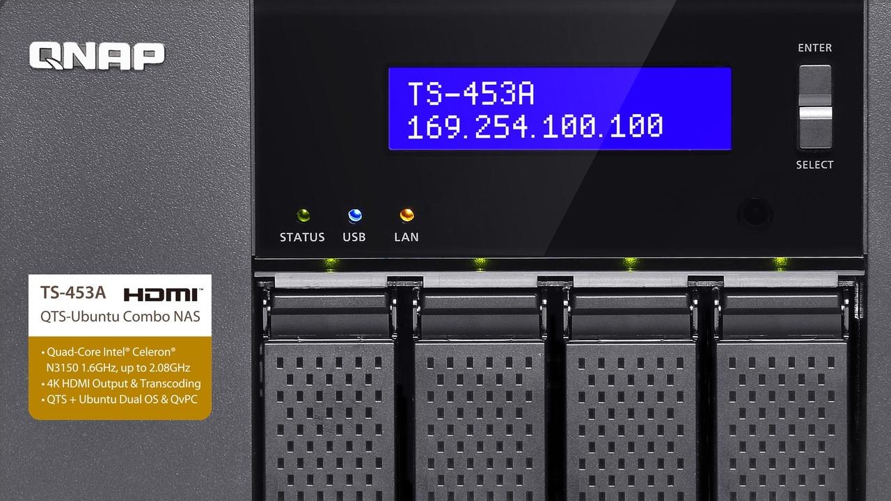 NAS: QNAP TS-x53A-Serie mit Linux und Karaokesystem