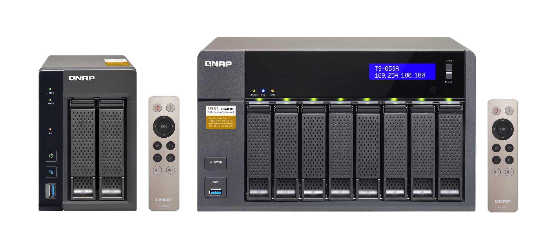 QNAP TS-x53A