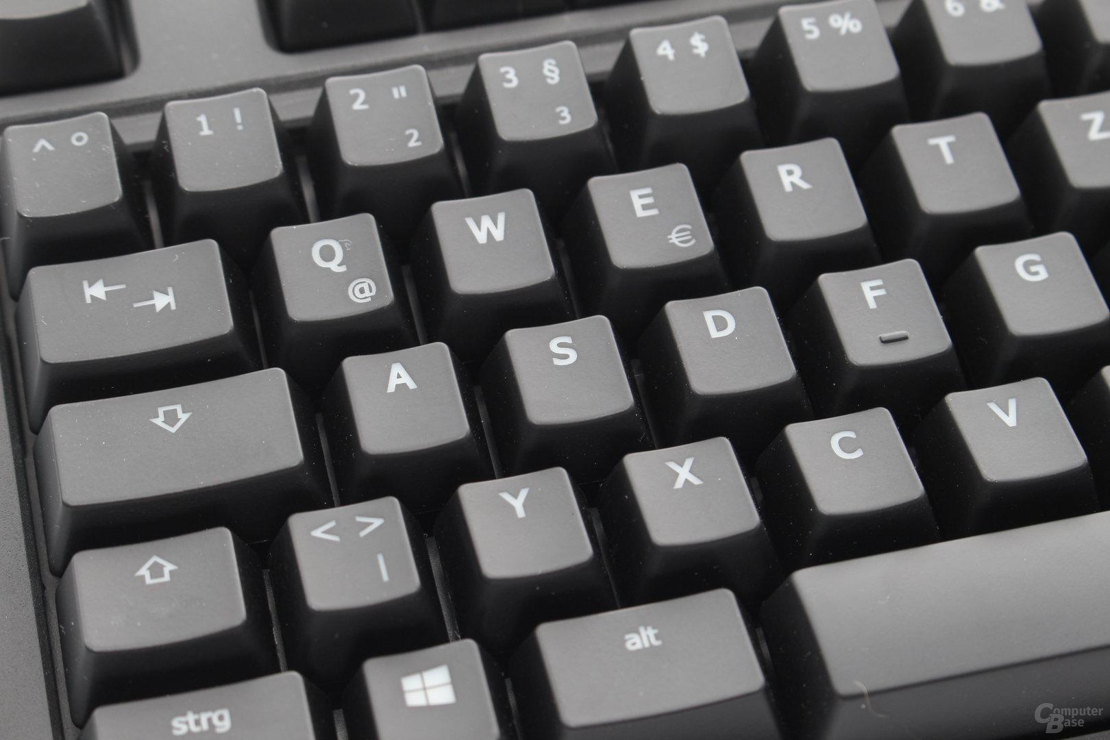 """Das """"Laser cut""""-Verfahren ist Standard bei beleuchteten Tastaturen"""