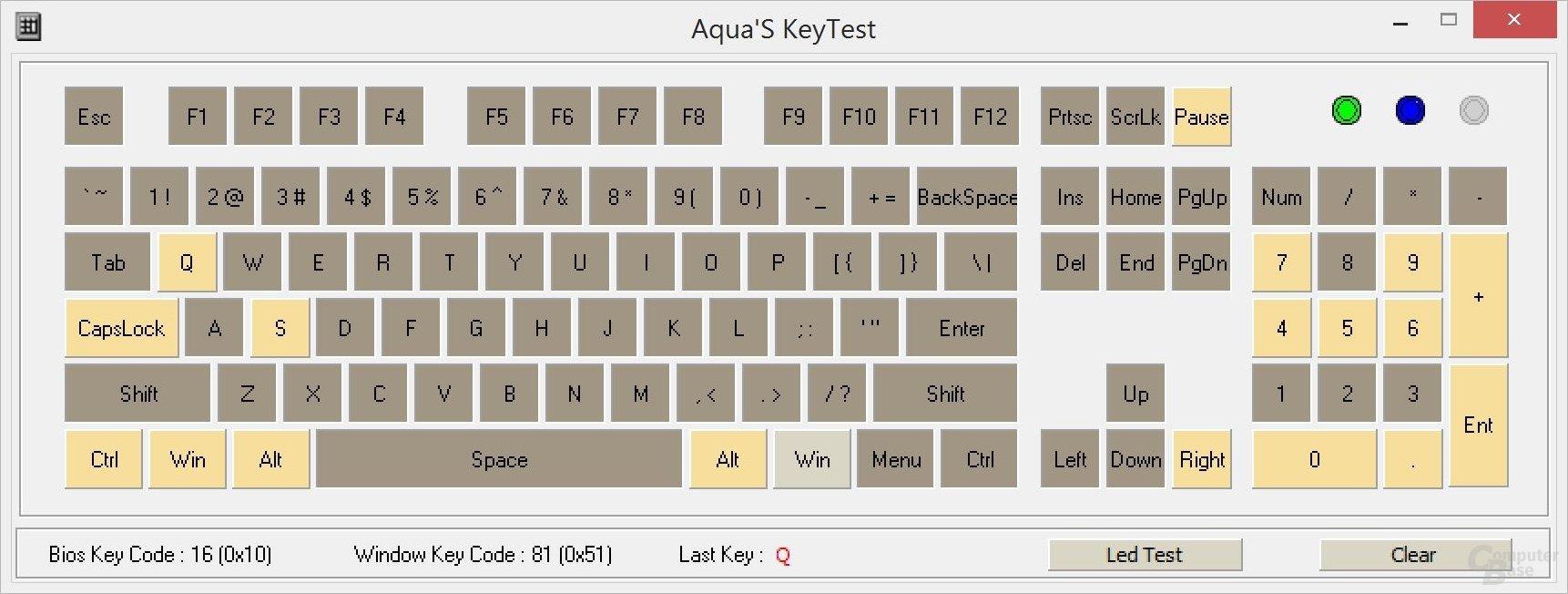 Echtes N-Key-Rollover wird nur durch die Anzahl der Hände eingeschränkt (Cherry MX Board 6.0)