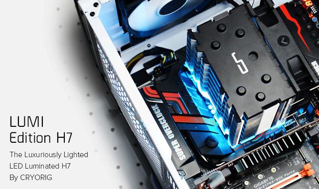 Cryorig H7 LUMI RGB+/LUMI Edition